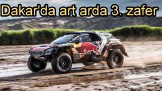 Peugeot Dakar'dan yine zaferle döndü