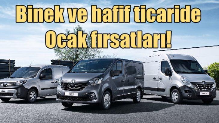 Renault ve Dacia'da Ocak fırsatları!