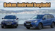 Subaru'da bakım indirimi!