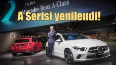 Mercedes yeni A Serisi'ni Amsterdam'da tanıttı