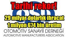 Türk otomotiv sanayii tarih yazdı!