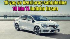 Renault'da 10 bin TL indirim!