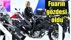 Suzuki Motobike İstanbul Fuarı'nın gözdesi oldu
