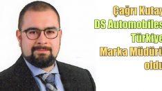 DS Automobiles Türkiye Marka Müdürlüğü'ne Çağrı Kutay atandı