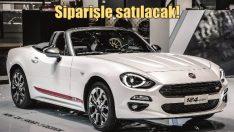 Fiat 124 Türkiye'de siparişle satılacak!
