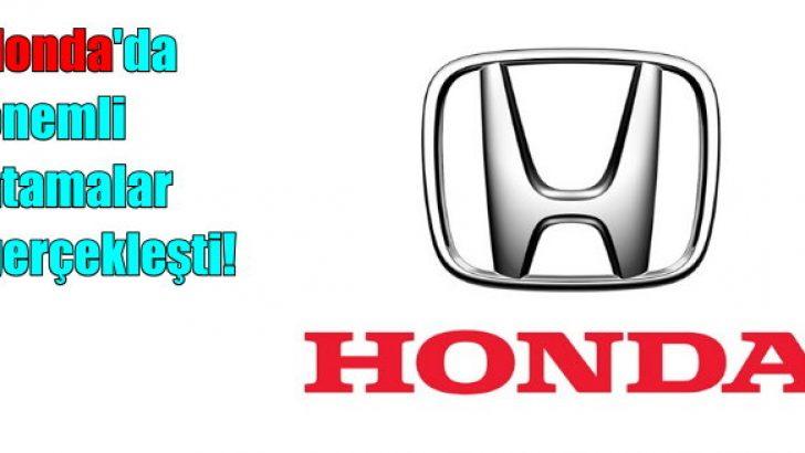 Honda Türkiye'de atamalar!