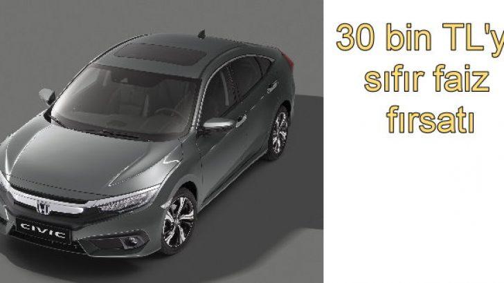Civic Sedanda Mart Boyunca Sıfır Faiz Fırsatı Otomobil Haber