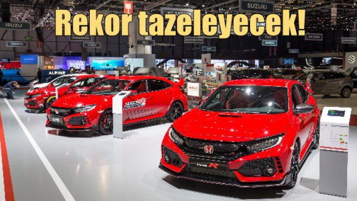 Honda Civic Type R rekor tazeleyecek!
