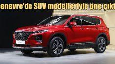 Hyundai SUV modelleriyle dikkatleri üzerine çekti