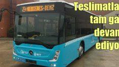 Mercedes otobüs teslimatları tam gaz devam ediyor!