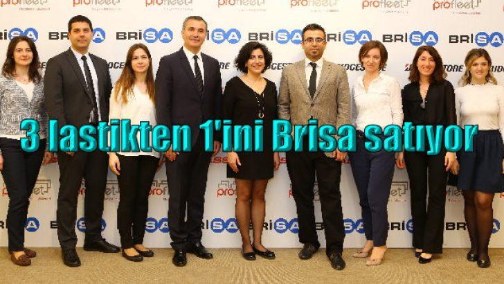 Kamyon ve otobüs lastiklerinde de Türkiye'nin tercihi Brisa oldu!