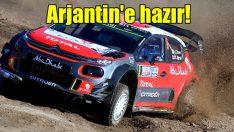 Citroen, C3'le WRC Arjantin'e hazır!