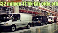 Ford Otosan'dan 432.2 milyon lira net kâr