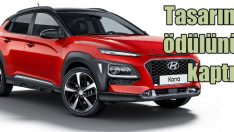 Hyundai KONA'ya Tasarım Ödülü!