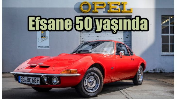 Opel GT kaç yaşında?