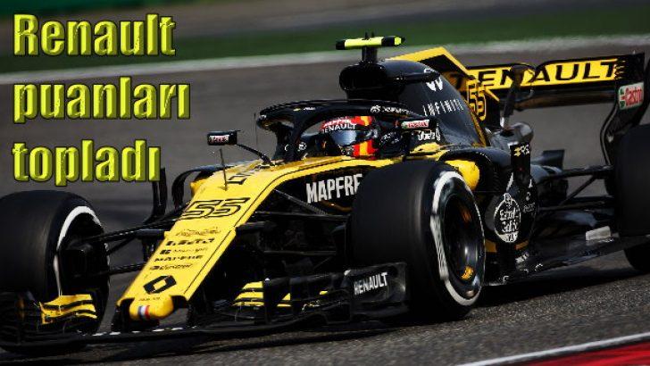 Renault, Hülkenberg ile puanları topladı