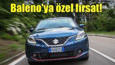 Suzuki Baleno'da 15 bin TL'ye 12 ay sıfır faiz