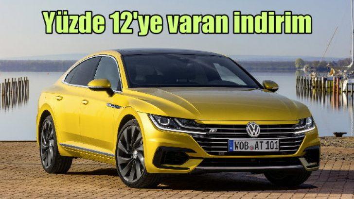 Volkswagen'de yüzde 12'ye varan indirim!
