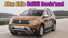 Altın Effie ödülünün sahibi Dacia oldu!