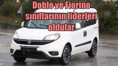 Fiat'ın hafif ticarileri Doblo ve Fiorino sınıfının lideri oldular