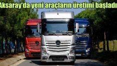 Mercedes-Benz Türk'ten uzun yol ve ağır nakliye yeni araçlar