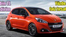 Peugeot'da 6 bin TL indirim!