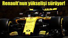 Renault'dan sezonun en iyi performansı