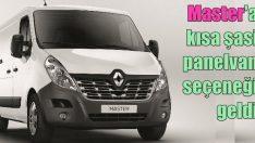 Renault'dan Master kısa şasi panelvan seçeneği