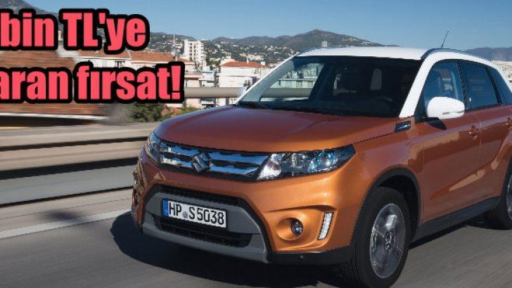 Suzuki Vitara'da 4 bin TL'ye varan fırsat!