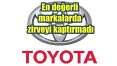 Dünyanın en değerli otomobil markası yine Toyota oldu