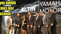 Yamaha Motor Türkiye aynı ödülü ikinci kez kazandı