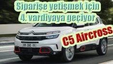 Yoğun talep üzerine C5 Aircross üretimi 4 vardiyaya çıkarıldı