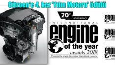 C3 Aircross'un motoruna ödül!