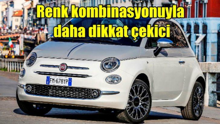 Fiat 500C Collezione renk kombinasyonuyla dikkat çekiyor