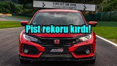 Honda, Civic Type R ile Belçika'da pist rekoru kırdı!