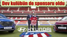 Hyundai dev kulübe de sponsor oldu!