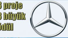 Mercedes-Benz Türk'e 3 büyük ödül birden!
