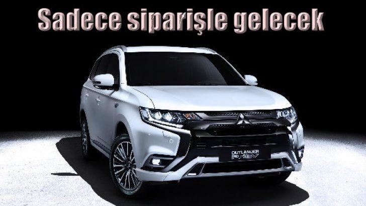 Mitsubishi Outlander hibrit özel siparişle gelecek!