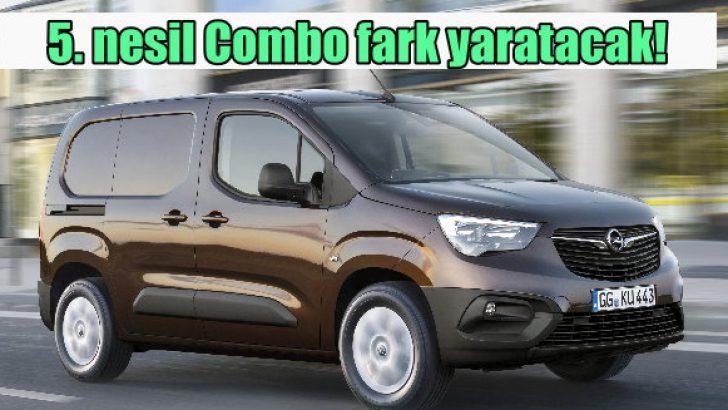 Yeni Opel Combo Eylül'de geliyor!