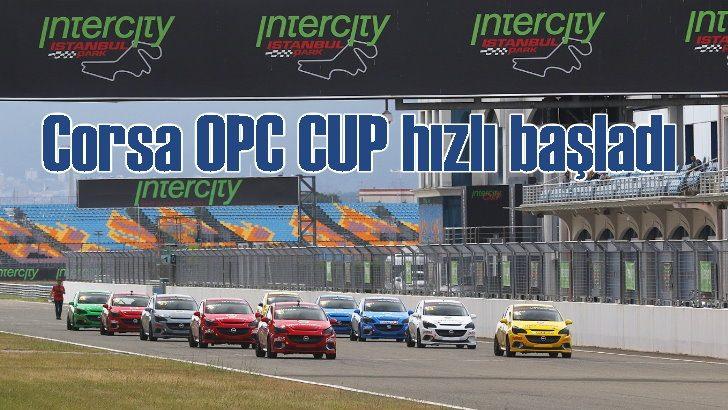 Opel Corsa OPC Cup 2018 hızlı başladı