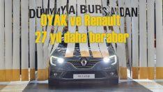 OYAK ve Renault işbirliği 27 yıl daha uzatıldı