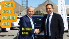 Peugeot'dan Garenta'ya yılın en büyük araç teslimatı