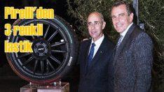 Pirelli 'Üç Renkli' özel lastik üretti