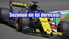 Renault sezonun en iyi derecesini egale etti