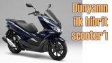 Honda, dünyanın ilk hibrit scooter'ını Eylül'de satışa sunuyor