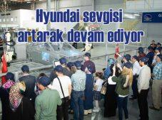 Hyundai'nin İzmit fabrikasının ziyaretçisi her geçen gün artıyor