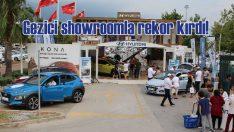 Hyundai gezici showroomla 3 bin test sürüşü gerçekleştirdi