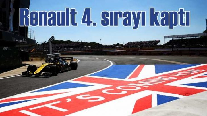 Renault Sport F1 Takımı 4. sıradaki yerini sağlamlaştırdı