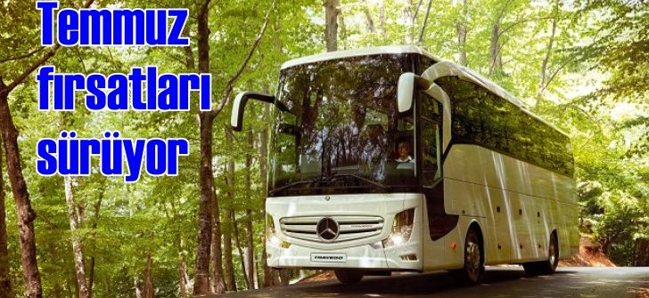 Mercedes'ten Temmuz ayına özel fırsatlar