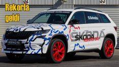 Skoda Kodiaq RS Nürburgring'te en hızlı turu attı